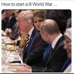 How to start a World War III