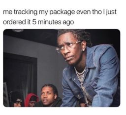 Tracking down the package